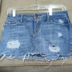 Junior jean skirt